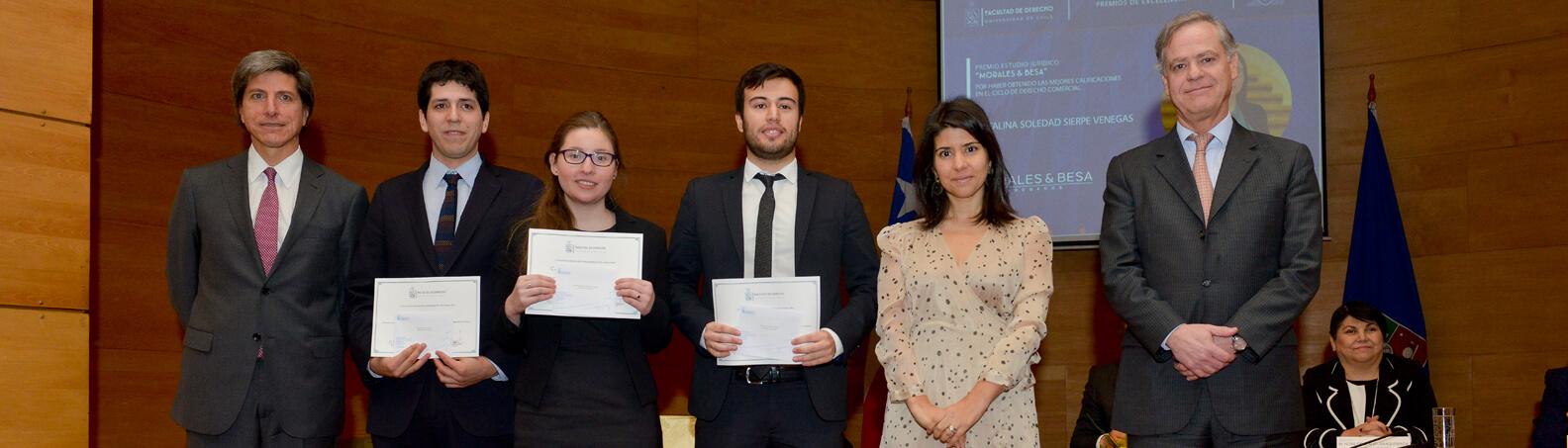 Premios mejores alumnos U. de Chile 2017
