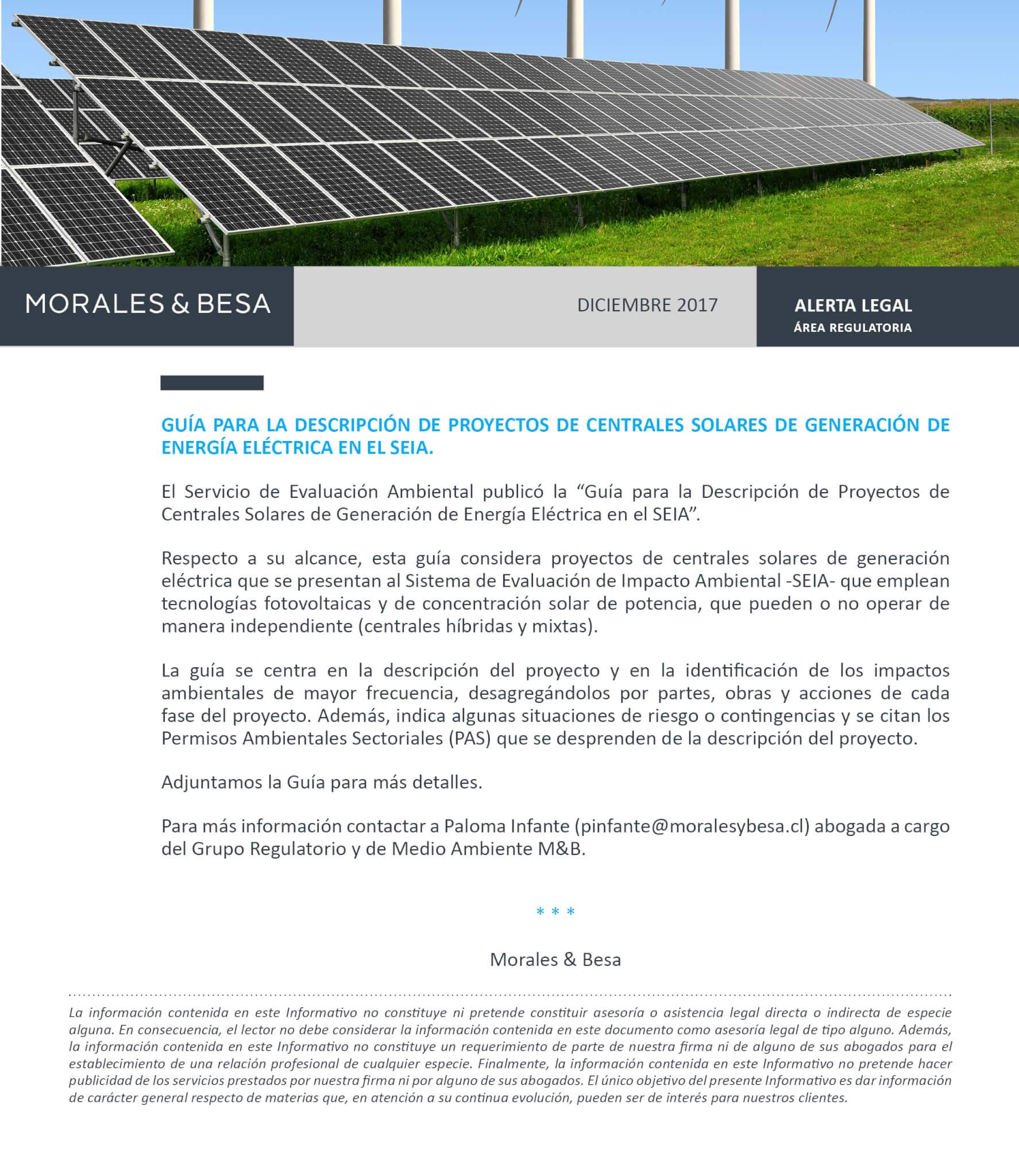 Morales & Besa_Alerta Legal_Regulatoria_Guía SEIA_Diciembre 2017