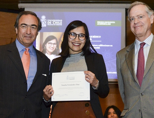 Morales & Besa Law Firm Award for the best average of the Commercial Law Cycle – Universidad de Chile