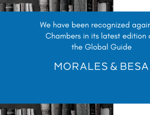 Morales & Besa has been recognized again as an elite firm by Chambers' Global Guide 2019