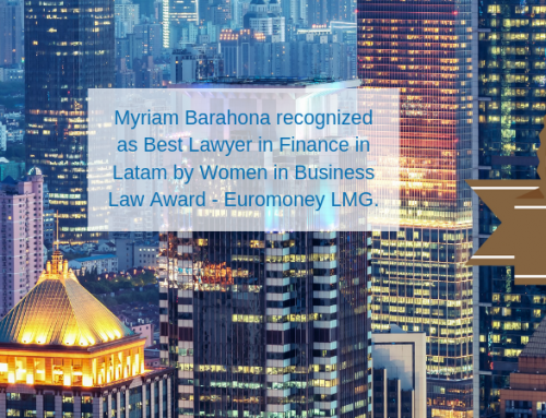 Myriam Barahona´s press coverage for recognition by Euromoney LMG