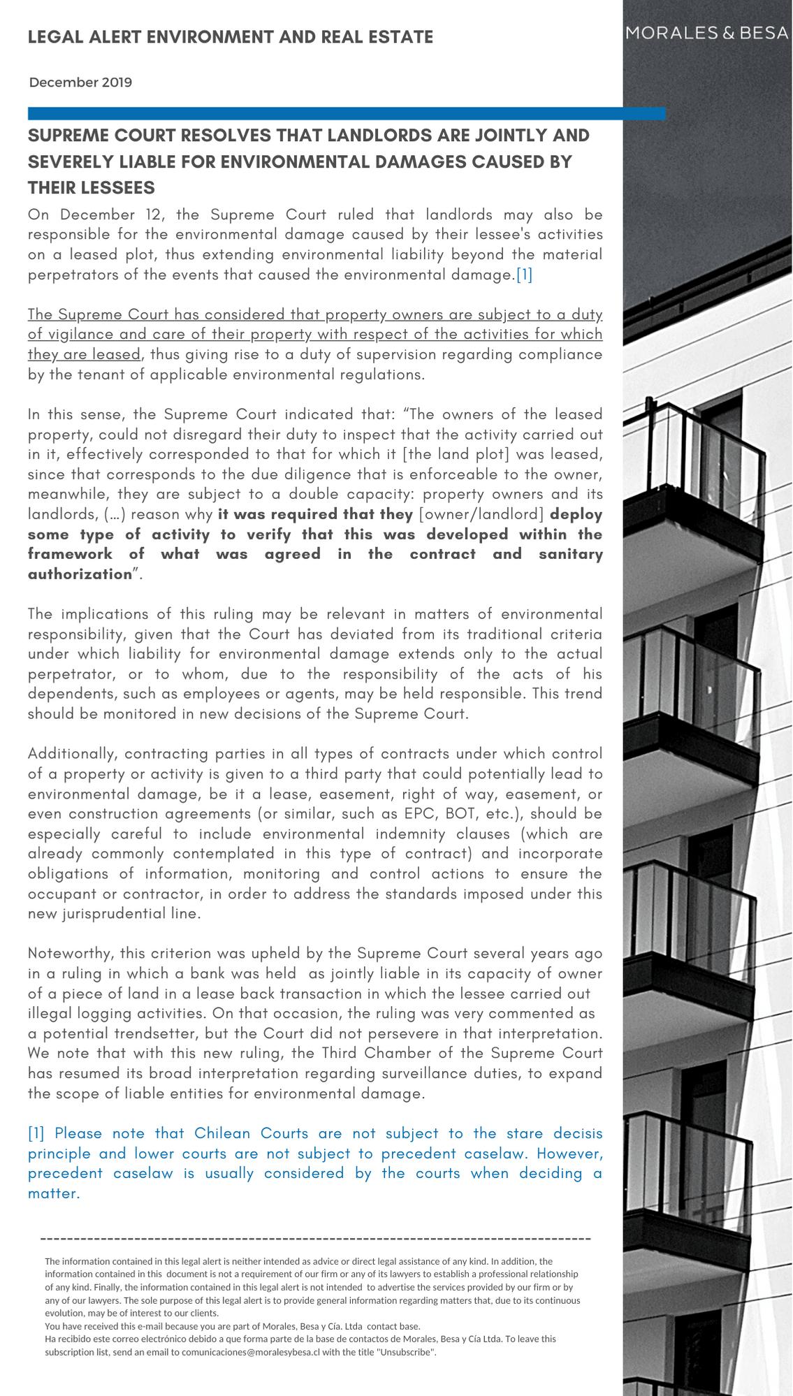 Alerta Legal M&B - Energía - Noviembre 2019