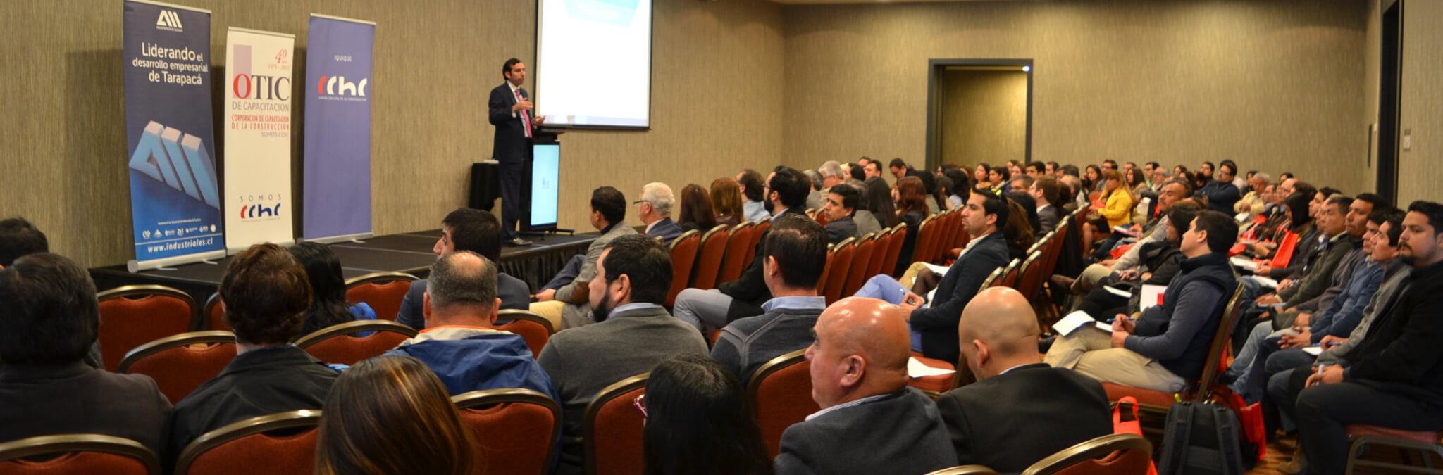 Fernando Arab dicta seminario en Iquique sobre Reforma Laboral, organizado por CChC, OTIC y Asociación de Industriales de Iquique