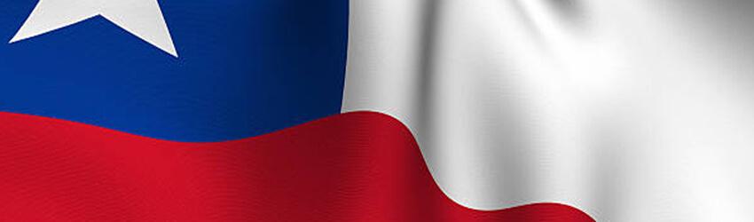 Rendered Chilean Flag