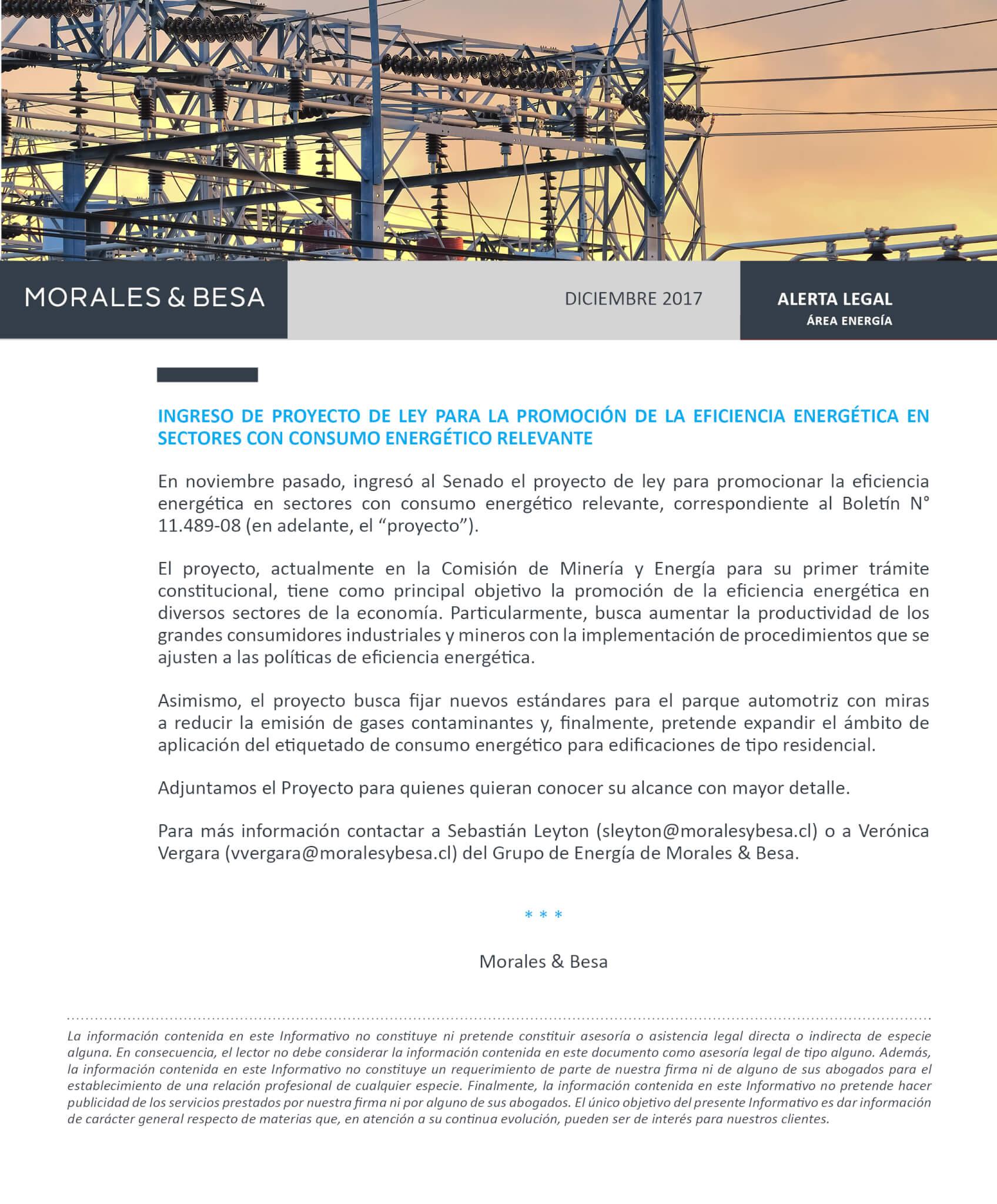 Morales & Besa_Alerta Legal_Energía_Diciembre 2017