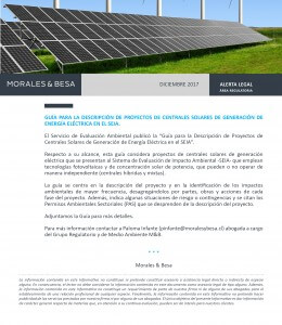 Morales & Besa_Alerta Legal_Regulatoria_Guía SEIA_Diciembre 2017