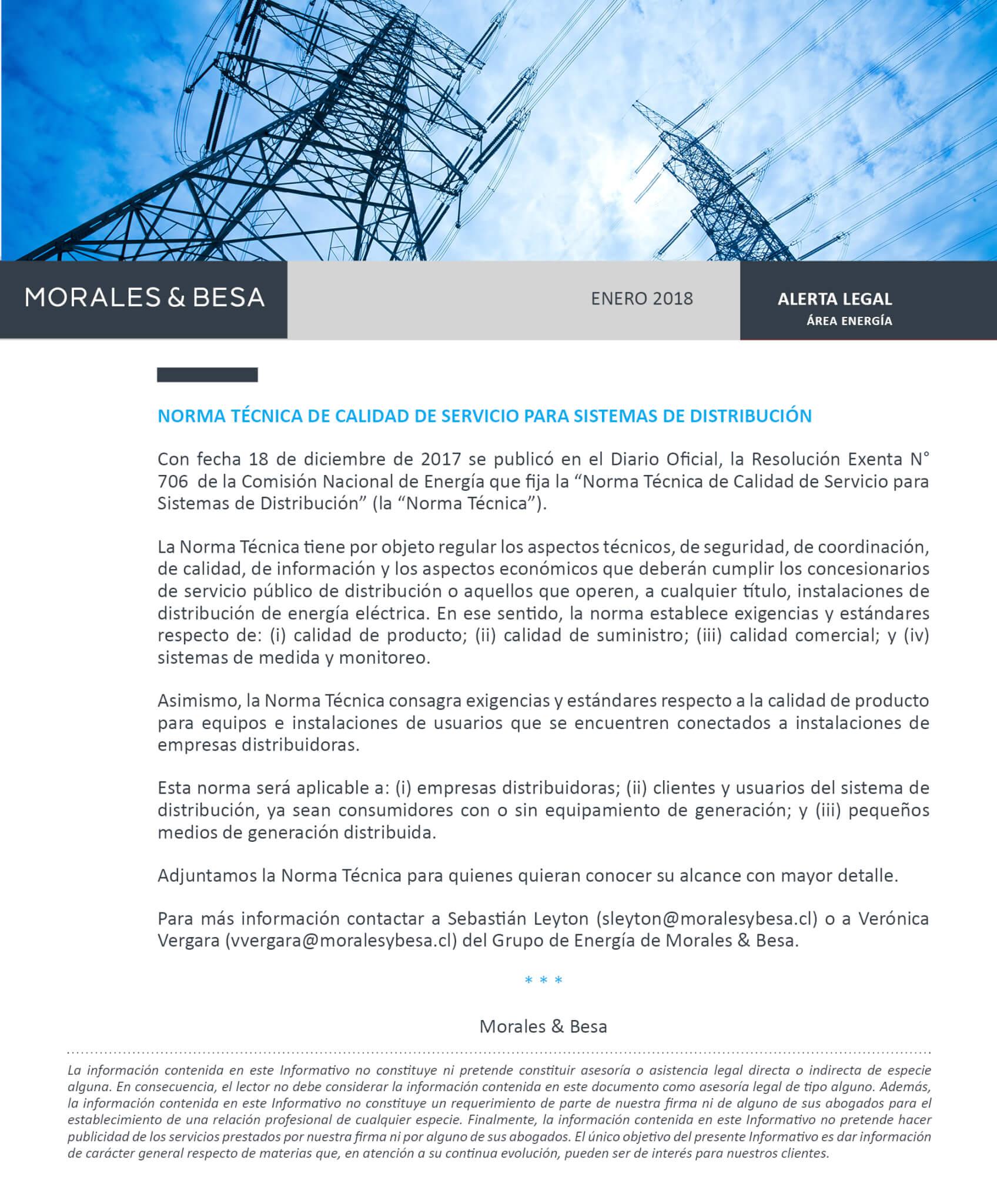 Morales & Besa_Alerta Legal_Energía_Enero 2018
