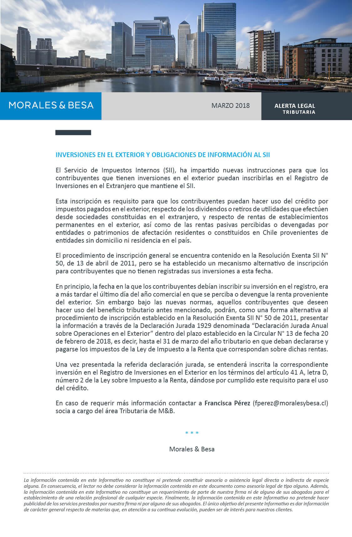 Morales & Besa_Alerta Legal_Tributaria_Marzo 2018