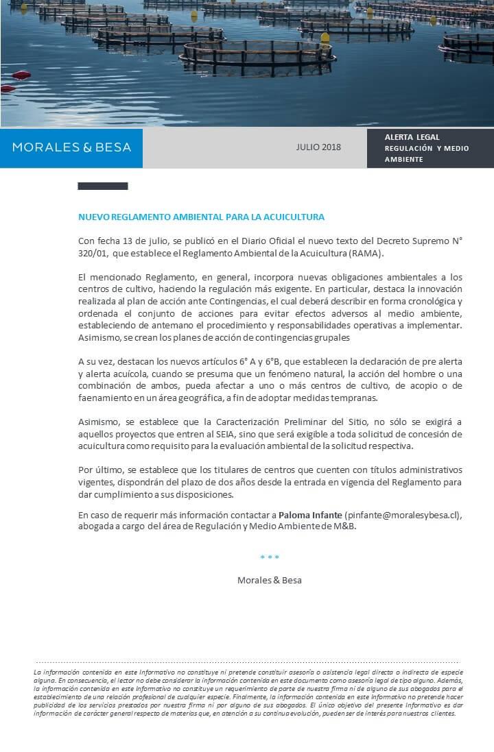 Morales Besa_Alerta Legal regulatorio julio 2018_