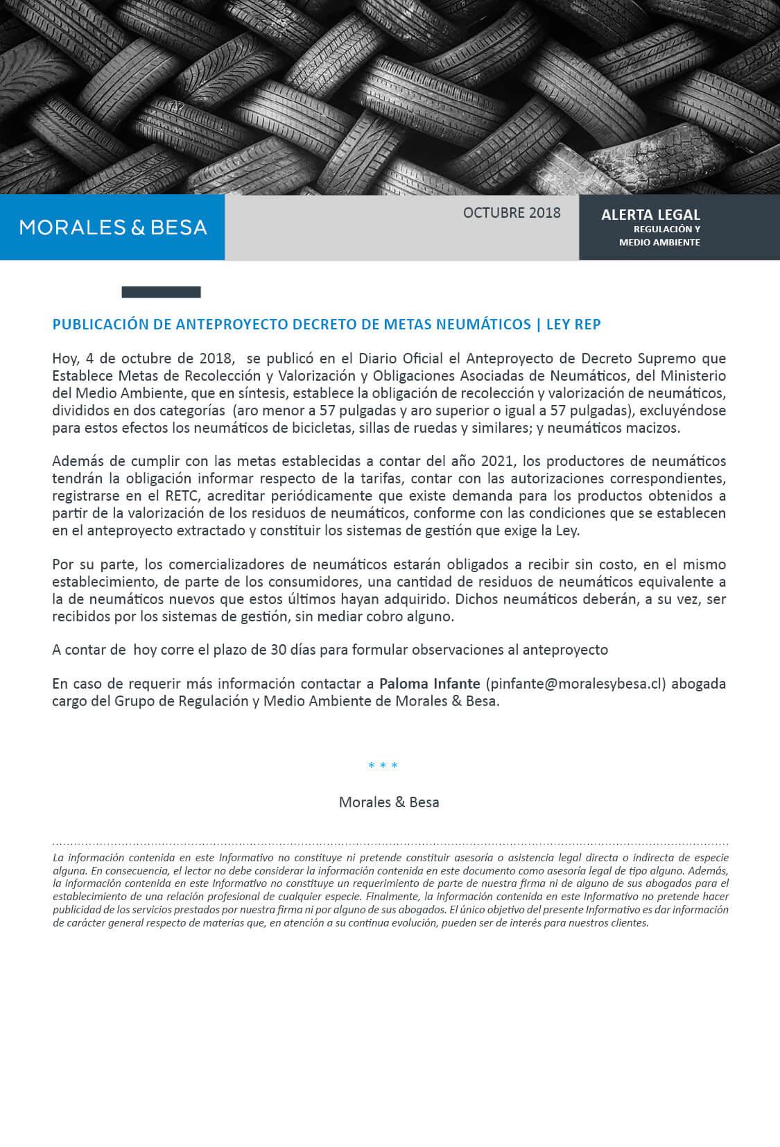 Morales & Besa_Alerta Legal_Regulatorio_Octubre 2018