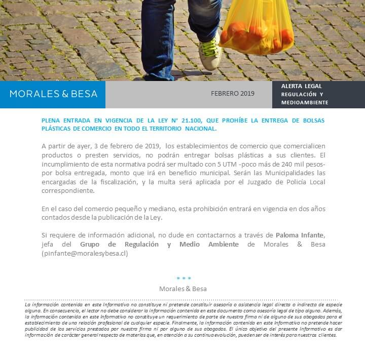 Alerta Legal - febrero 2019 - bolsas plásticas