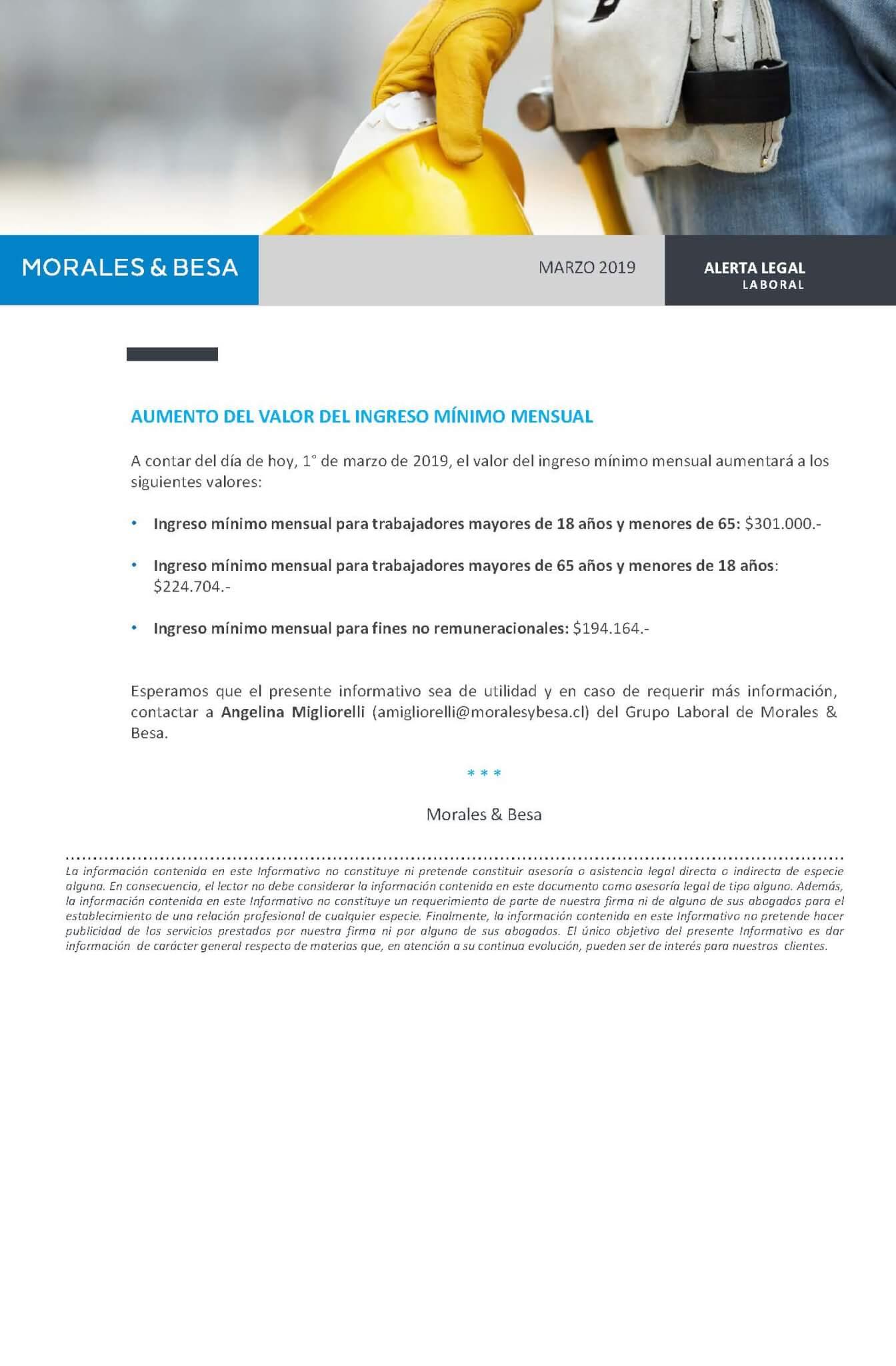 Morales Besa_ Alerta Legal_Laboral_marzo 2019