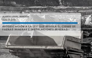 Alerta Legal Minería - Julio de 2019