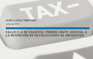 Alerta Legal Tributaria - Julio de 2019