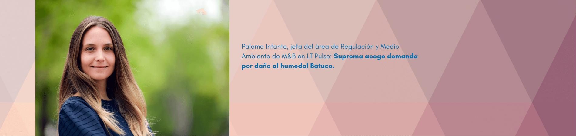 """Paloma Infante en LT Pulso: """"Suprema acoge demanda por daño al humedal Batuco"""""""