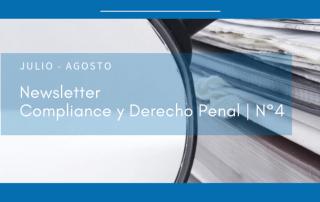 portada Newsletter de Compliance y Derecho Penal N°4