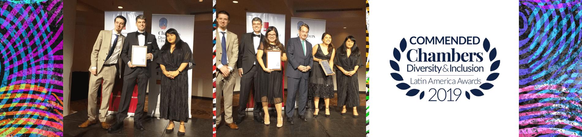 Morales & Besa recibió dos premios Chambers D&I en Buenos Aires