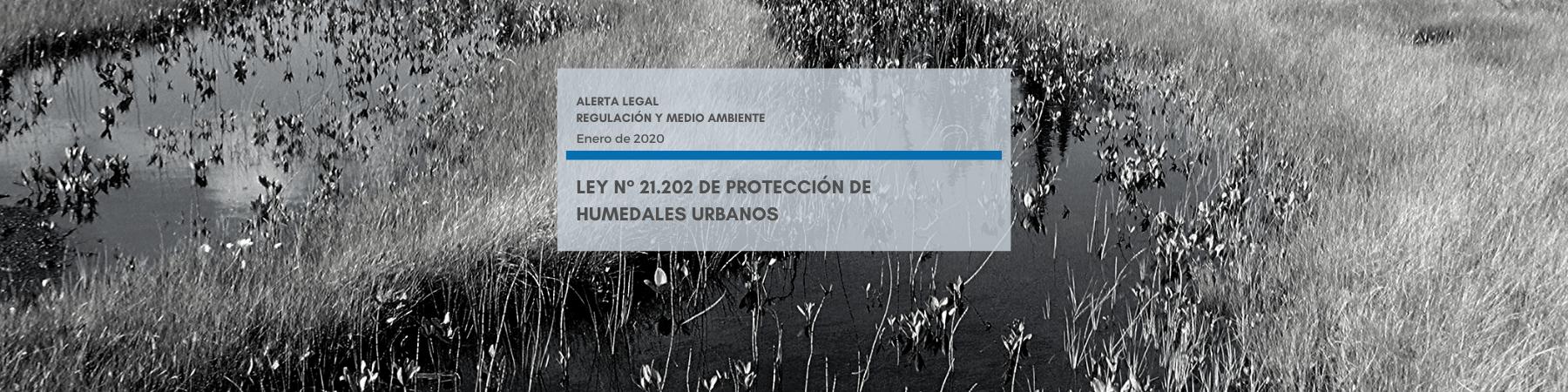Alerta Legal | Ley N° 21.202 de Protección de Humedales Urbanos
