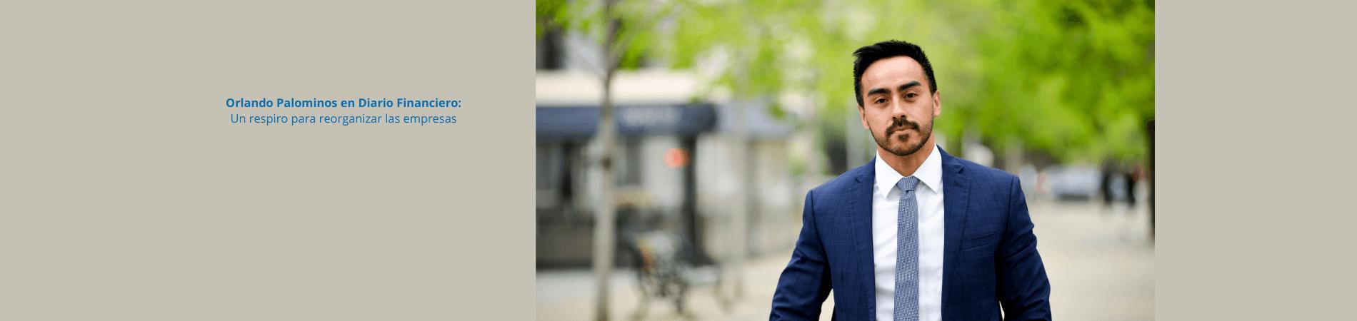 Orlando Palominos en Diario Financiero: Un respiro para reorganizar las empresas