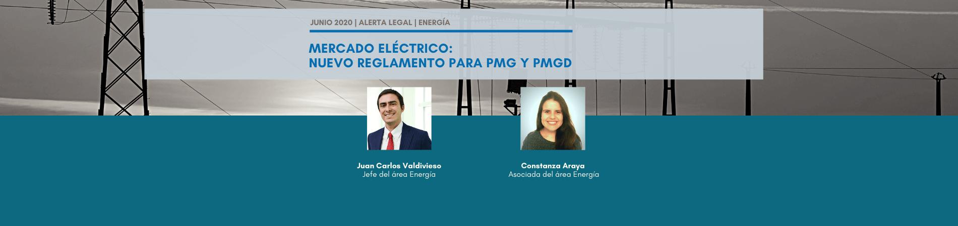 Alerta Legal | Mercado Eléctrico: Nuevo reglamento para PMG y PMGD