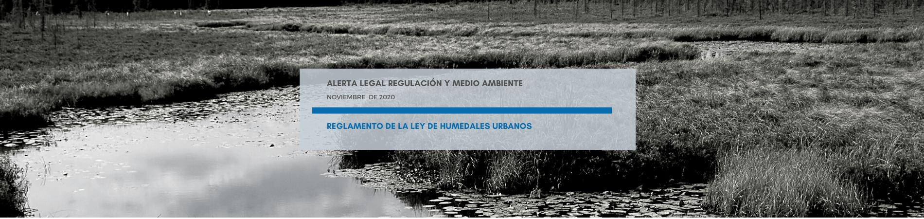 Alerta Legal M&B | Reglamento de la Ley de Humedales Urbanos