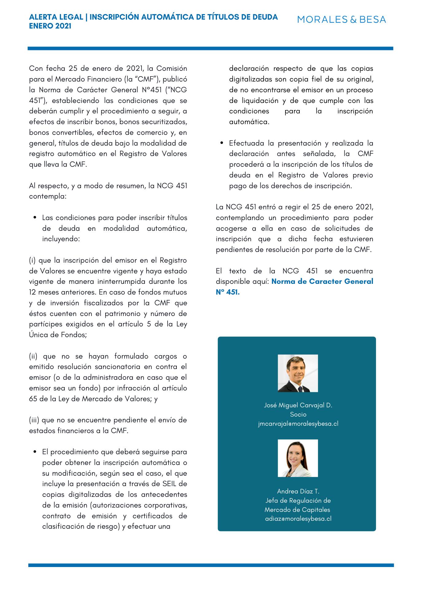 Alerta Legal M&B - Regulación del Mercado de Capitales - Noviembre 2020 (1)