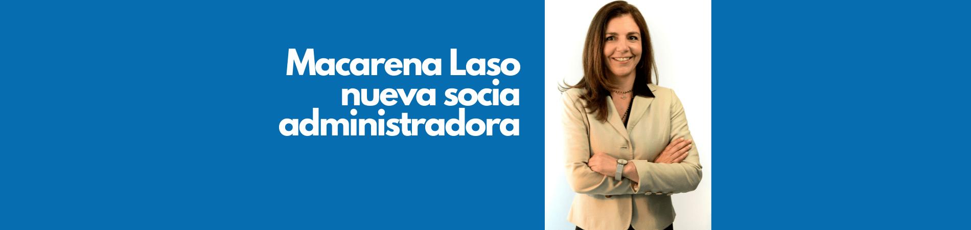Macarena Laso asume como primera socia administradora de Morales & Besa