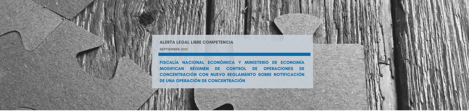 Alerta Legal | FNE y Ministerio de Economía modifican régimen de control de operaciones de concentración con nuevo reglamento sobre notificación de una operación de concentración